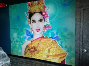 Restaurant wall full coverage North Andover