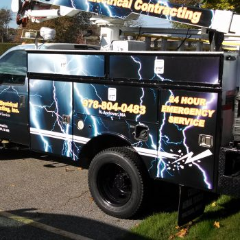Stewart Electrical North Andover full wrap
