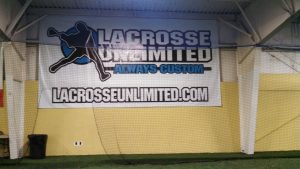 Lacrosse banner indoor field North Andover