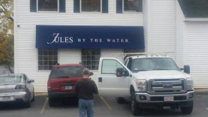 sign installation in Methuen MA