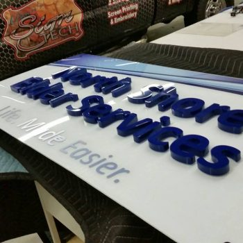 Danvers MA signs installation