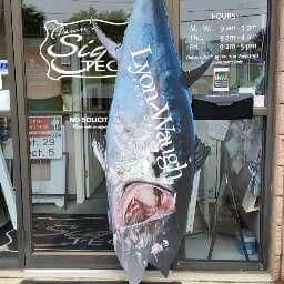 Fish sign Peabody MA