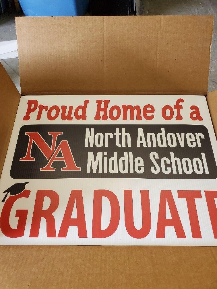Yard Sign for graduate
